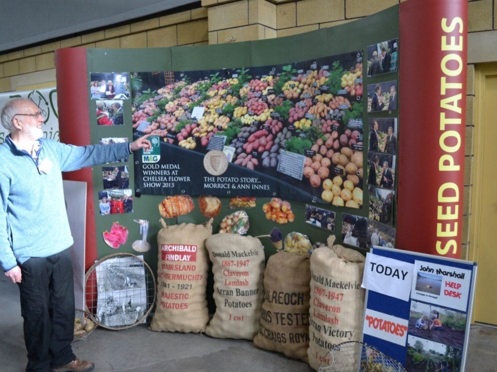 Borders Organic Gardeners Potato Day at the Border Union