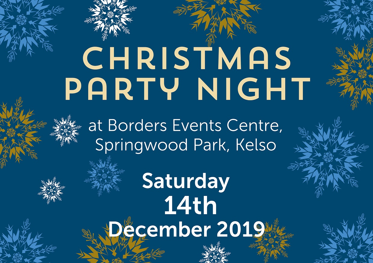 Christmas Party 2019 Logo.Christmas Party Night Borders Events Centre