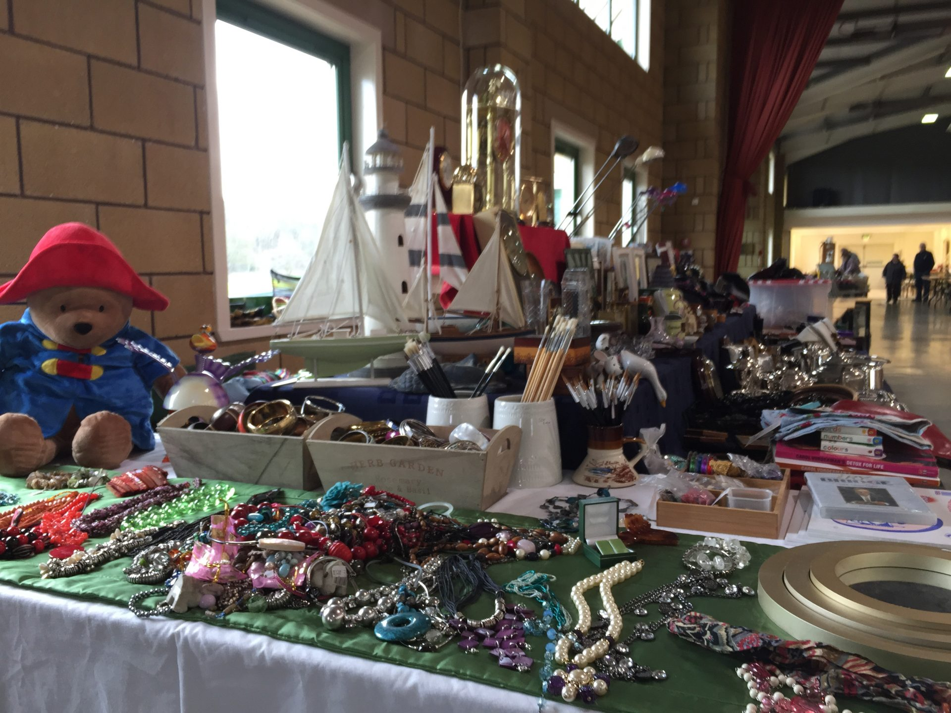 Items for sale at the Kelso Antiques Fleamarket which takes place regularly at the Borders Events Centre within the Border Union Showground